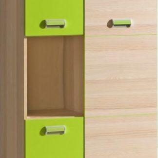 Tempo Kondela Skříňka EGO L5 - zelená + kupón KONDELA10 na okamžitou slevu 3% (kupón uplatníte v košíku)