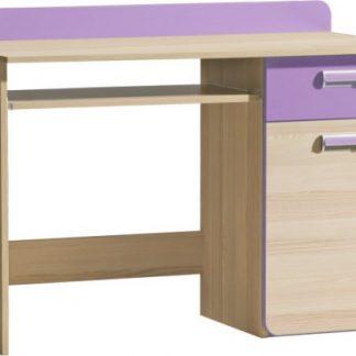 Tempo Kondela PC stolek EGO L10 - fialová + kupón KONDELA10 na okamžitou slevu 3% (kupón uplatníte v košíku)