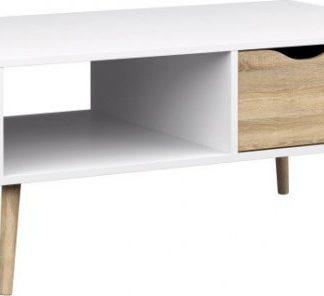 Tempo Kondela Konferenční stolek OSLO 75384 + kupón KONDELA10 na okamžitou slevu 3% (kupón uplatníte v košíku)