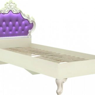 Lubidom Dětská postel Markýza 90x200 - alabastr