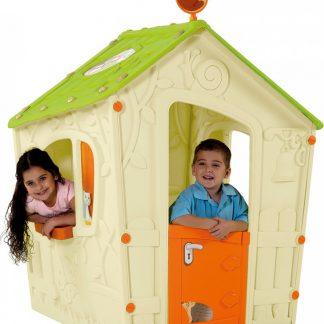 Rojaplast Domeček MAGIC PLAY HOUSE - béžový