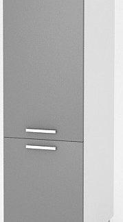 Falco Vysoká kuchyňská skříňka Natanya SL šedý lesk
