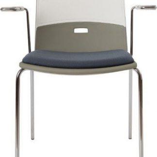 Alba Konferenční židle Duetto čalouněná