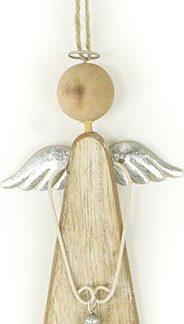 Autronic Dřevěný andělíček ZA8611