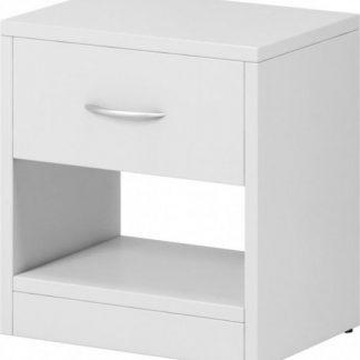 Falco Noční stolek Izzy 1s bílý
