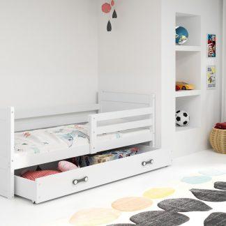 Falco Dětská postel Riky 90x200 - bílá