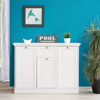 Idea Prádelník 3 dveře + zásuvka LANDWOOD 15