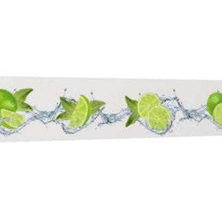 Dekorační panel na kuchyňskou linku Lime 260x53