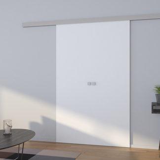 Bílé dvoukřídlé posuvné dveře Bones