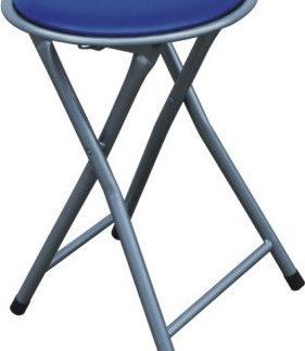 Tempo Kondela Taburet IRMA - modrý + kupón KONDELA10 na okamžitou slevu 3% (kupón uplatníte v košíku)