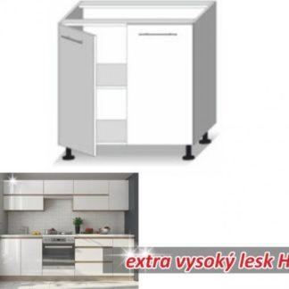 Tempo Kondela Kuchyňská skříňka LINE WHITE D80 + kupón KONDELA10 na okamžitou slevu 3% (kupón uplatníte v košíku)