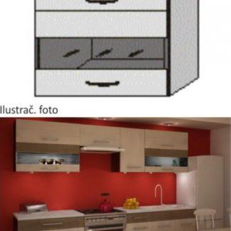 Tempo Kondela Kuchyňská skříňka JURA NEW IA GW1-80 + kupón KONDELA10 na okamžitou slevu 3% (kupón uplatníte v košíku)