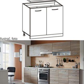 Tempo Kondela Kuchyňská skříňka CYRA NEW D-60 + kupón KONDELA10 na okamžitou slevu 3% (kupón uplatníte v košíku)