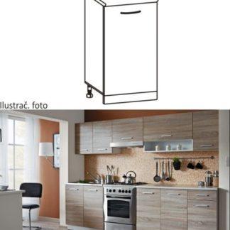 Tempo Kondela Kuchyňská skříňka CYRA NEW D-30 + kupón KONDELA10 na okamžitou slevu 3% (kupón uplatníte v košíku)