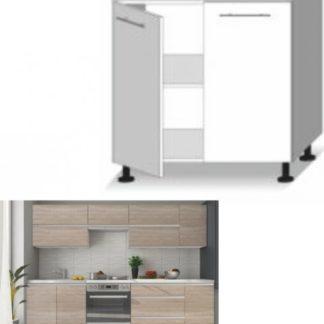 Tempo Kondela Kuchyňská skříňka LINE SONOMA D80 + kupón KONDELA10 na okamžitou slevu 3% (kupón uplatníte v košíku)
