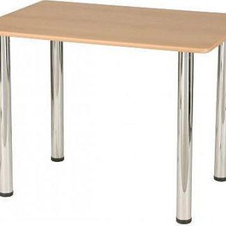 ATAN Noha stolová samostatná Chrom lesklý