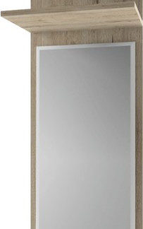 Tempo Kondela Panel se zrcadlem Orestes 40 - dub san remo + kupón KONDELA10 na okamžitou slevu 3% (kupón uplatníte v košíku)