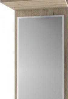 Tempo Kondela Panel se zrcadlem Orestes 45 - dub san remo + kupón KONDELA10 na okamžitou slevu 3% (kupón uplatníte v košíku)