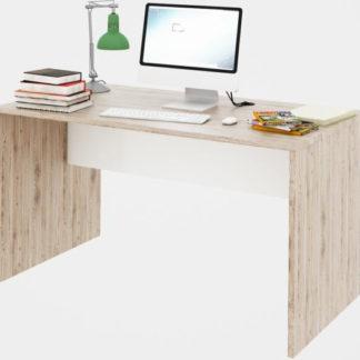 Tempo Kondela PC stůl Rioma TYP 11 - san remo / bílá + kupón KONDELA10 na okamžitou slevu 3% (kupón uplatníte v košíku)