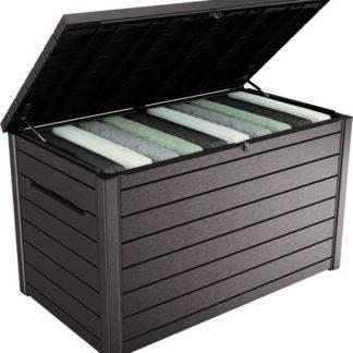 Rojaplast Box ONTARIO 870l - hnědá