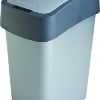 Curver Odpadkový koš FLIPBIN 10L - šedý