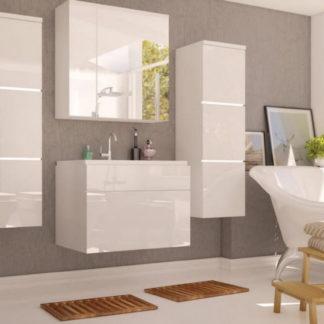 Casarredo Koupelnová sestava PORTO bílá lesk + umyvadlo