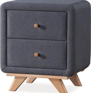 Casarredo Noční stolek MELISSA šedý