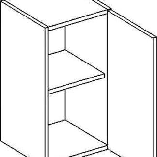 Casarredo W40P horní skříňka jednodvéřová PREMIUM de LUX olše