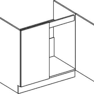 Casarredo D80ZL dolní skříňka pod dřez PREMIUM de LUX olše