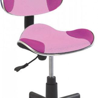 Casarredo Kancelářská židle Q-G2 růžová