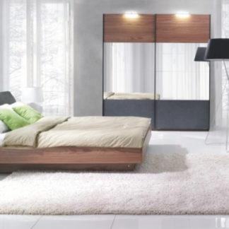 Tempo Kondela Ložnicový komplet (skříň + postel 160x200 s 2 nočními stolky)
