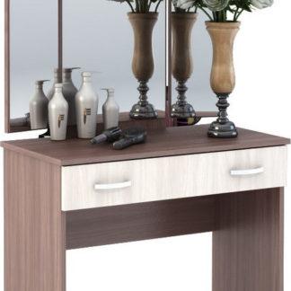 Casarredo Toaletní stolek se zrcadlem BASIA CT-551 sv./tm. jasan šimo