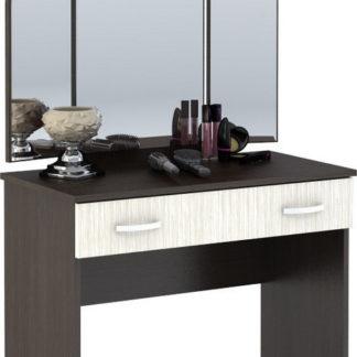 Casarredo Toaletní stolek se zrcadlem BASIA CT-551 belfort/wenge