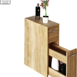 Tempo Kondela Koupelnová skříňka NATALI TYP 7 - dub sonoma + kupón KONDELA10 na okamžitou slevu 3% (kupón uplatníte v košíku)