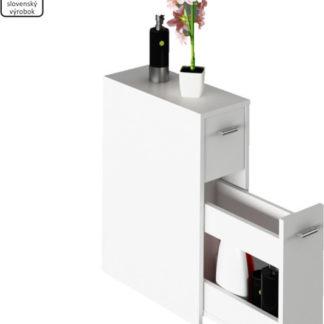 Tempo Kondela Koupelnová skříňka NATALI TYP 7 - bílá + kupón KONDELA10 na okamžitou slevu 3% (kupón uplatníte v košíku)