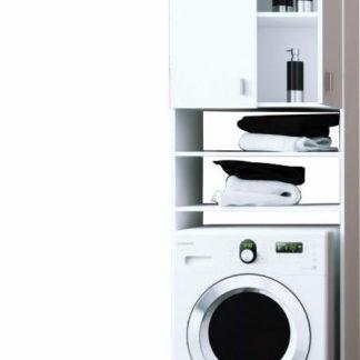 Tempo Kondela Skříňka nad pračku NATALI - bílá + kupón KONDELA10 na okamžitou slevu 3% (kupón uplatníte v košíku)