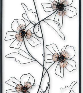 Autronic Kovová nástěnná dekorace FB-1453