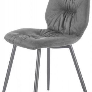 Halmar Jídelní židle K-312 - šedá