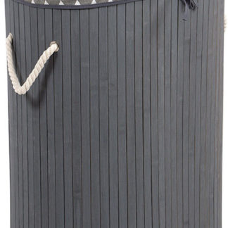 Autronic Prádelní koš z bambusu KD4406
