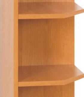 Tempo Kondela Kuchyňská skříňka horní LORA MDF NEW KLASIK W30N - olše