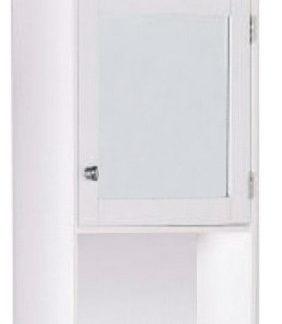 Tempo Kondela Závěsná skříňka se zrcadlem ATENE TYP 2 - bílá + kupón KONDELA10 na okamžitou slevu 3% (kupón uplatníte v košíku)