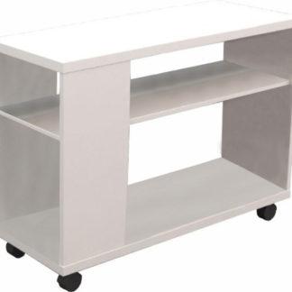 ATAN Příruční stolek Zoela A - bílá - II.jakost