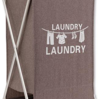 Autronic Koš na prádlo látkový DD3108 - hnědý