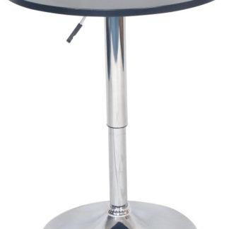Tempo Kondela Barový stůl s nastavitelnou výškou BRANY New - černá + kupón KONDELA10 na okamžitou slevu 3% (kupón uplatníte v košíku)