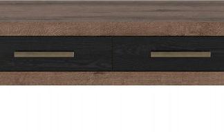 BRW Konferenční stolek BALIN LAW2S/110 - dub monastery/dub černý