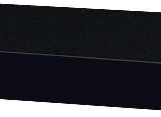 Autronic Nástěnná polička  P-023 BK - černá