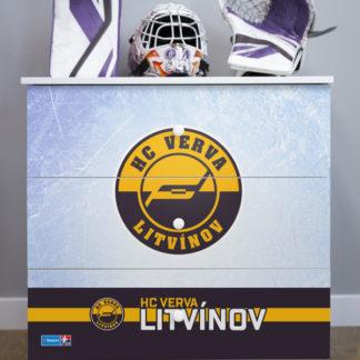 Forclaire Dětská hokejová komoda - HC VERVA Litvínov