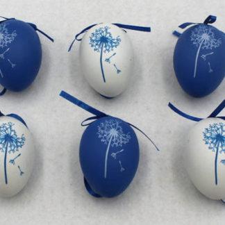 Autronic Vajíčka plastová modrá a bílá