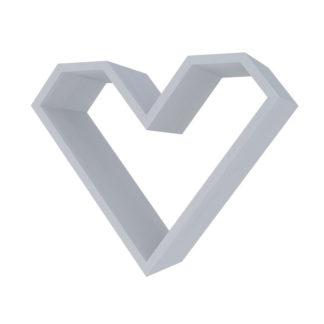 Casarredo Police ve tvaru srdce ARIZA barva šedá