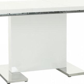 Tempo Kondela  jídelní stůl IRAKOL - bílá + kupón KONDELA10 na okamžitou slevu 3% (kupón uplatníte v košíku)